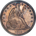 Proof Seated Dollars, 1842 $1 PR65 NGC....