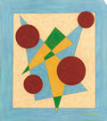 Fine Art - Painting, American:Modern  (1900 1949)  , EMIL JAMES BISTTRAM (American, 1895-1976). Untitled, 1944.Encaustic on paper. 12-1/2 x 11 inches (31.8 x 27.9 cm). Sign...