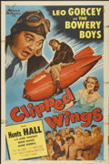 "Movie Posters:Comedy, Clipped Wings (Allied Artists, 1953). One Sheet (27"" X 41""). Bowery Boys Comedy...."