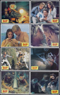 "Movie Posters:Adventure, The Deep (Columbia, 1977). Lobby Card Set of 8 (11"" X 14"").Adventure.... (Total: 8 Items)"