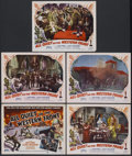 """Movie Posters:Academy Award Winner, All Quiet on the Western Front (Realart, R-1950). Title Lobby Card and Lobby Cards (4) (11"""" X 14""""). Academy Award Winner.... (Total: 5 Items)"""