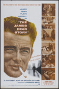"Movie Posters:Documentary, The James Dean Story (Warner Brothers, 1957). One Sheet (27"" X 41""). Documentary...."