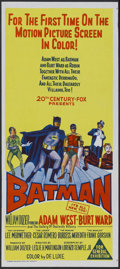"Movie Posters:Action, Batman (20th Century Fox, 1966). Australian Daybill (13.25"" X 30"").Action. ..."
