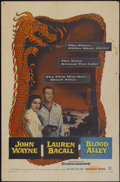 "Movie Posters:Action, Blood Alley (Warner Brothers, 1955). One Sheet (27"" X 41"").Action...."