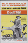 """Movie Posters:Western, McLintock! (United Artists, 1963). One Sheet (27"""" X 41""""). Western...."""