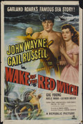 "Movie Posters:Adventure, Wake of the Red Witch (Republic, 1949). One Sheet (27"" X 41"").Adventure...."