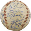 Autographs:Baseballs, 1969 New York Mets Team Signed Baseball. Amazin' ONL (Giles) sphereis one of the finest we've ever encountered from the te...