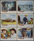 "Movie Posters:Western, The Alamo (United Artists, 1960). Lobby Cards (6) (11"" X 14""). Western.... (Total: 6 Items)"
