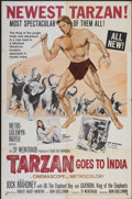 "Movie Posters:Adventure, Tarzan Goes to India (MGM, 1962). One Sheet (27"" X 41"").Adventure...."