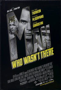 """The Man Who Wasn't There (USA Films, 2001). One Sheet (27"""" X 40"""") DS. Crime"""