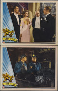 "Movie Posters:Drama, Pittsburgh (Universal, 1942). Lobby Cards (2) (11"" X 14""). Drama.... (Total: 2 Items)"