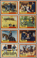 "Movie Posters:Western, The Horse Soldiers (United Artists, 1959). Lobby Card Set of 8 (11"" X 14""). Western.... (Total: 8 Items)"