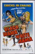 "Movie Posters:Blaxploitation, Black Mama, White Mama (American International, 1972). One Sheet (27"" X 41""). Blaxploitation...."