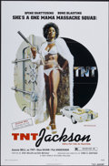 "Movie Posters:Blaxploitation, T.N.T. Jackson (New World, 1974). One Sheet (27"" X 41"").Blaxploitation...."
