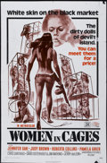"Movie Posters:Sexploitation, Women in Cages (New World, 1971). One Sheet (27"" X 41"").Sexploitation...."