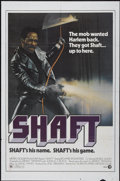 "Movie Posters:Blaxploitation, Shaft (MGM, 1971). One Sheet (27"" X 41""). Blaxploitation...."