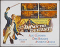 "Movie Posters:Adventure, Damn the Defiant! (Columbia, 1962). Half Sheet (22"" X 28""). Alsoknown as H.M.S. Defiant. Adventure...."