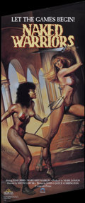 """Movie Posters:Sexploitation, The Arena (Concorde, R-1988). Video Poster (14.5"""" X 33""""). Releasedon video as Naked Warriors. Sexploitation...."""