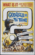 "Movie Posters:Science Fiction, Godzilla vs. the Thing (American International, 1964). One Sheet(27"" X 41""). Science Fiction...."