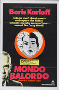 "Movie Posters:Documentary, Mondo Balordo (Crown International, 1967). One Sheet (27"" X 41""). Documentary...."