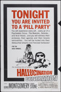"""Movie Posters:Cult Classic, Hallucination Generation (Trans American, 1967). One Sheet (27"""" X41""""). Cult Classic...."""