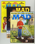 Magazines:Humor, Mad #270-375 Box Lot (EC, 1987-98).... (Total: 105)