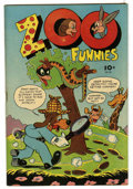 "Golden Age (1938-1955):Funny Animal, Zoo Funnies #101 (#1) Davis Crippen (""D"" Copy) pedigree (Charlton,1945) Condition: FN...."