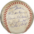 Autographs:Baseballs, 1968 Atlanta Braves Team Signed Baseball. Fifteen members of the1968 Atlanta Braves have checked in on the provided ONL (G...