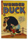 "Golden Age (1938-1955):Funny Animal, Wonder Duck #2 Davis Crippen (""D"" Copy) pedigree (Marvel, 1949)Condition: FN/VF...."