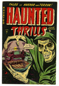 Golden Age (1938-1955):Horror, Haunted Thrills #2 (Farrell, 1952) Condition: FN....