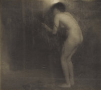 EDWARD STEICHEN (American 1879 - 1973) La Cigale, 1906 Photo grauvre for Camera Work 6-1/2 x 7 inches (16.5 x 17