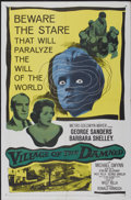 "Movie Posters:Science Fiction, Village of the Damned (MGM, 1960). One Sheet (27"" X 41""). Science Fiction...."