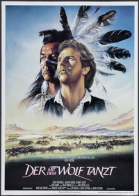 "Dances With Wolves (Orion, 1990). German A1 (23"" X 33""). Academy Award Winner"