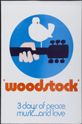 "Movie Posters:Rock and Roll, Woodstock (Warner Brothers, 1970). Special ""Wilding"" One Sheet (27""X 41"") Style C. Rock and Roll...."