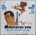 "Movie Posters:Action, Murderers' Row (Columbia, 1966). Six Sheet (81"" X 81""). Action...."