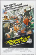 "Movie Posters:Crime, The Taking of Pelham One Two Three (United Artists, 1974). OneSheet (27"" X 41"") Tri-Folded. Crime...."