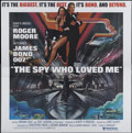 "Movie Posters:James Bond, The Spy Who Loved Me (United Artists, 1977). Six Sheet (81"" X 81""). James Bond...."