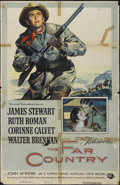 "Movie Posters:Western, The Far Country (Universal International, 1955). One Sheet (27"" X 41""). Western...."
