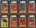 Football Cards:Sets, 1956 Topps Football Complete Set (120). Offered is a complete 1956Topps Football set of 120 cards. Rookie cards of Roosevel...