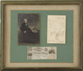 Autographs:Celebrities, Sam Houston Document Signed, Washington City, 1847....