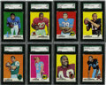 Football Cards:Sets, 1969 Topps Football Complete Set (262/263 missing Butkus). Offered is a mid to high grade 1969 Topps near set of 262/263 ca...