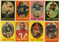 Football Cards:Sets, 1958 Topps Football Complete Set (132). Offered is a 1958 Topps Football complete set of 132 cards. Some of the highlights ...
