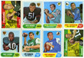 Football Cards:Sets, 1968 Topps Football Set. Offered is a 1968 Topps football completeset of 219 cards. Rookie cards of Bob Griese, Jim Hart an...
