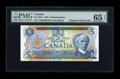 Canadian Currency: , BC-53bA $5 1979. ...