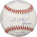 "Autographs:Baseballs, Joe Montana Single Signed ""Stat"" Baseball. As far as signedbaseballs go, you'd be hard-pressed to find an orb more unique ..."