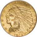 Indian Half Eagles, 1912 $5 MS63 PCGS....