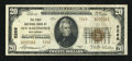 National Bank Notes:West Virginia, New Martinsville, WV - $20 1929 Ty. 2 The First NB Ch. # 5266. ...