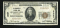 National Bank Notes:Pennsylvania, Quarryville, PA - $20 1929 Ty. 1 The Quarryville NB Ch. # 3067. ...