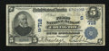 National Bank Notes:Kentucky, Covington, KY - $5 1902 Date Back Fr. 590 The First NB Ch. #(S)718. ...