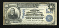 National Bank Notes:Virginia, Norfolk, VA - $10 1902 Date Back Fr. 619 The Virginia NB Ch. #(S)9885. ...